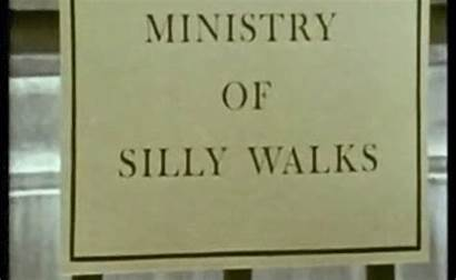 Monty Silly Walks Ministry Python Circus Flying