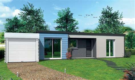 plan de maison moderne plain pied 4 chambres maison plain pied en l vaudaire t5