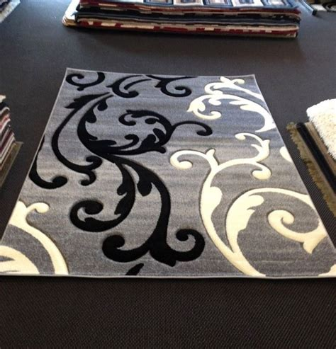 black and white accent rug black and white area rugs best rug variety
