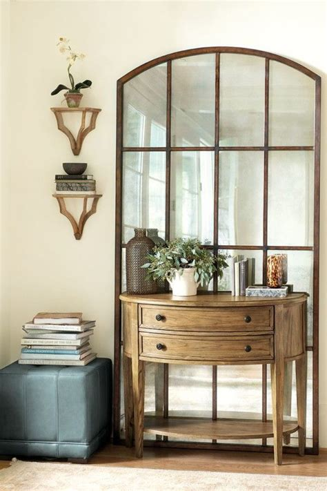 Entryway And Foyer Furniture by Furniture Trendy Entryway Console And Mirror Using Half
