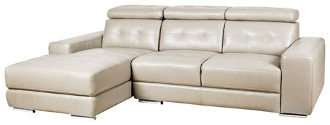 The Phoenix Leather Sofa Chaise