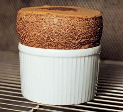 hot chocolate souffle recipe bbc good food