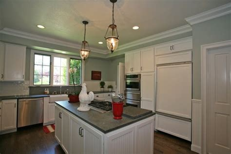 kitchen soffit color ideas should cabinet crowns all be the same height