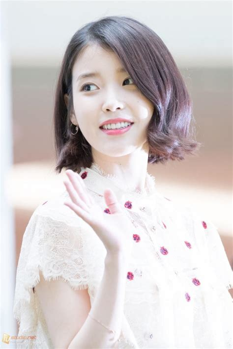 pictures prove iu  perfected  short hair style koreaboo