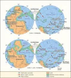 Pangea Supercontinent Map