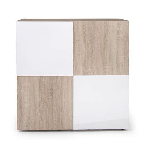 Awesome Meuble Portes Buffet Design Scandinave Chneblanc