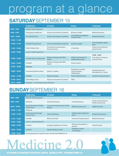 conference program templates word excel