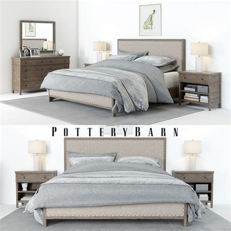 bedside drawers pottery barn toulouse bedroom set accessoires