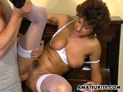 Mature Amateur Wife Homemade Threesome With Cum Amateur Porn