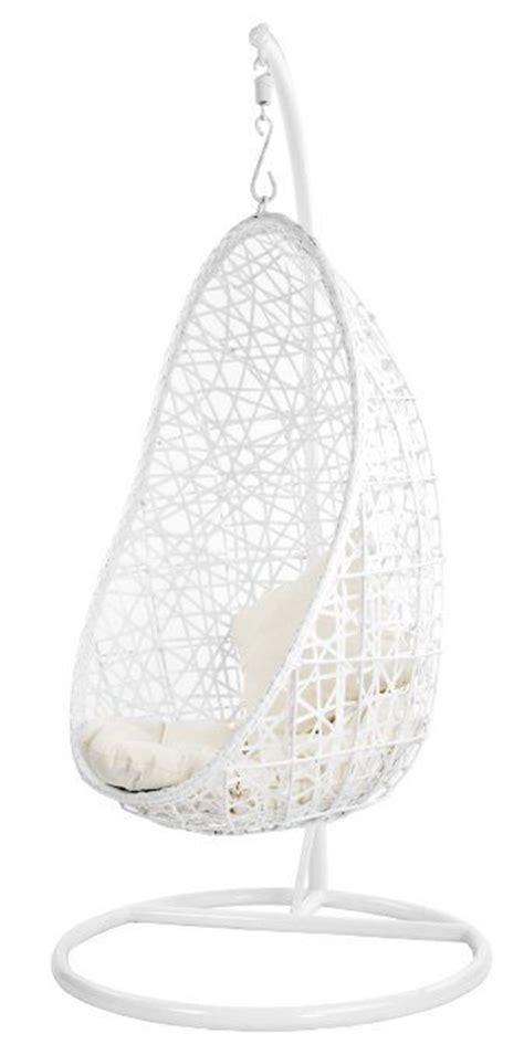 giradino egg fauteuil suspendu blanc balcon pinterest
