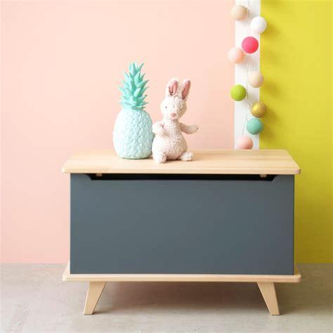coffre 224 jouets le coffre bleu canard laurette design enfant