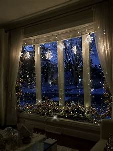 Bay, Window, Decorating, For, Christmas