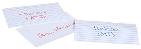 Mead Lined Index Cards, Note Cards, Ruled