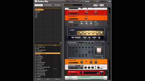 Guitar Presets by Guitar Rig My Favorite Presets