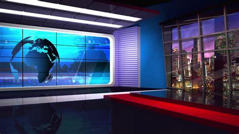 Tv Studio Background Stock Footage Video