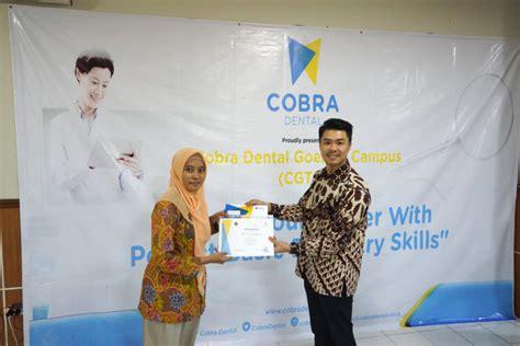 beasiswa cobra dental dukung prestasi anak bangsa cobra