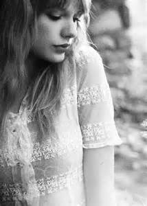 Taylor Swift Black and White Tumblr