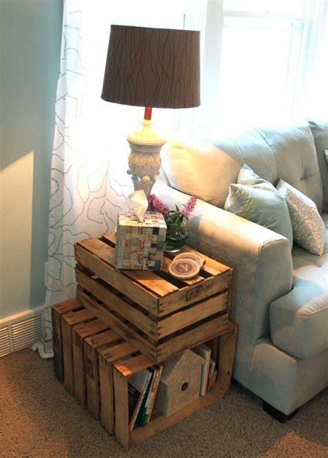 incorporate wood crates  decor  ideas digsdigs