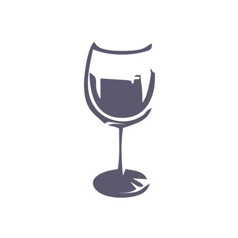 modèle verre a vin dessin Vaisselle Maison