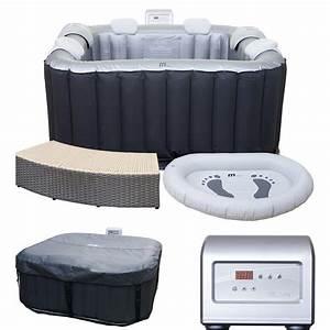 Whirlpool 2 Personen Outdoor : whirlpool mspa hwc a62 4 2 personen in outdoor heizbar aufblasbar 185x185cm ebay ~ Sanjose-hotels-ca.com Haus und Dekorationen