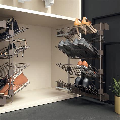 Zapater interior armario extraible #zapatero #