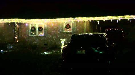 gemmy light show house