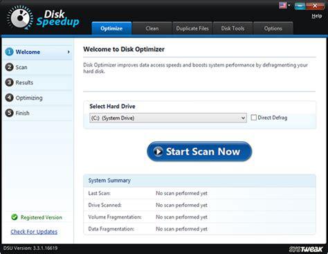 disk defragmenter software  windows    pc