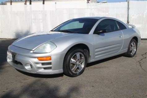 auto manual repair 2003 mitsubishi eclipse electronic throttle control purchase used 2003 mitsubishi eclipse gs manual 4 cylinder no reserve in orange california