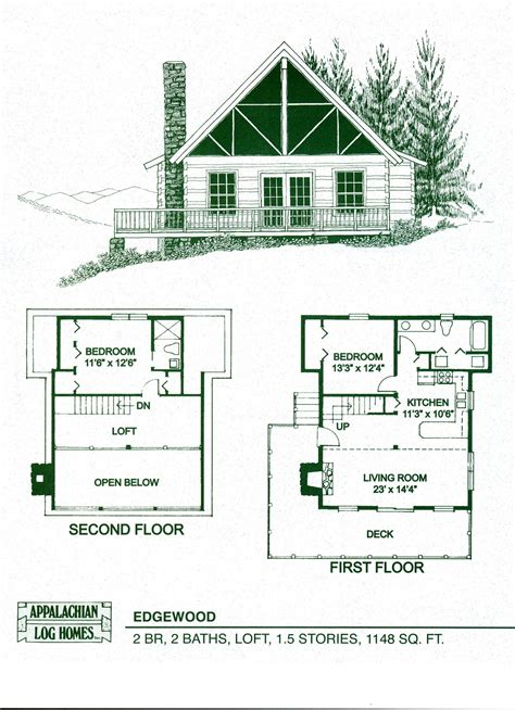 Cabin Floor Plans Loft by Floor Plans For A Small Log Cabin Floor Plans Log