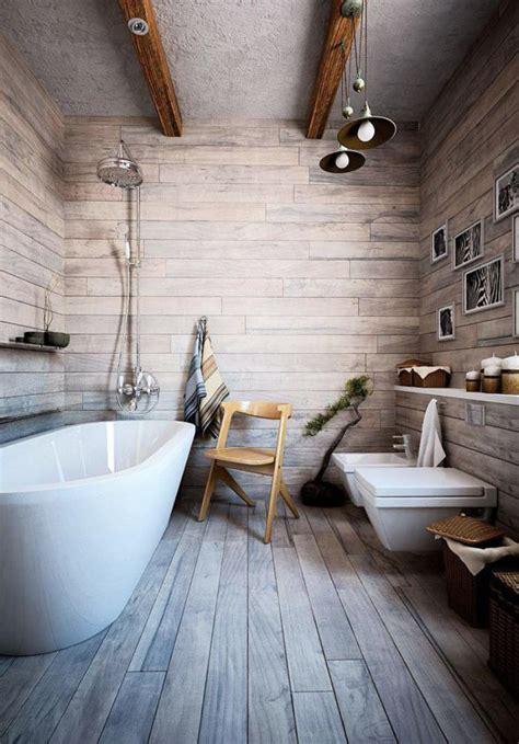 salle de bain rustique les beaux exemples de salle de bain rustique 40 photos inspirantes