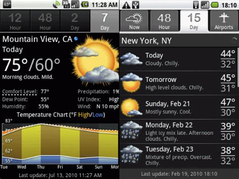 free weather apps for android best weather apps for android one click root