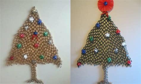 basteln mit klorollen zu weihnachten  einfache diy