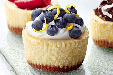 Each) philadelphia cream cheese, softened, 1 teaspoon vanilla, 4 eggs. Philadelphia Mini Cheesecakes Recipe at Kraft What's Cooking | Kraft What's Cooking