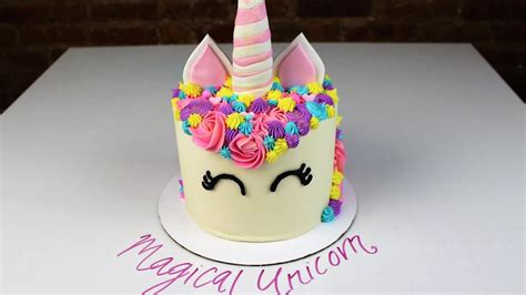 magical unicorn cake  chelsweets youtube