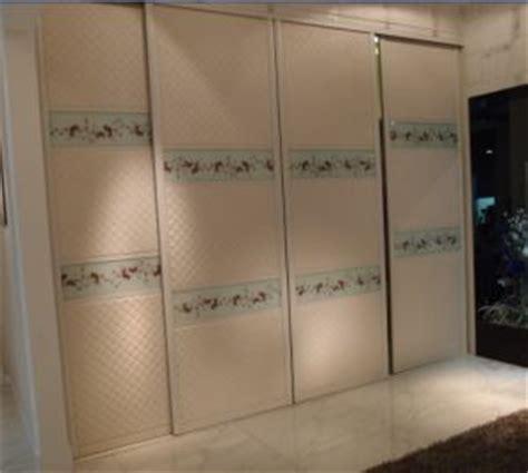 china zhihua 18mm mdf sliding door wardrobe new brand
