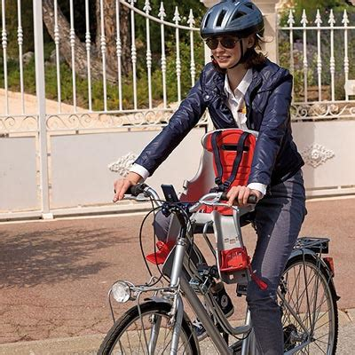 siège bébé à l avant ok baby porte bébé avant pour vélo