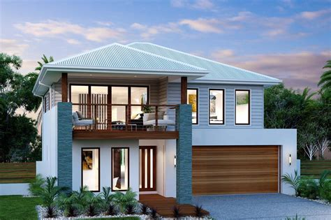 home designers seaview 321 split level home designs in queensland g