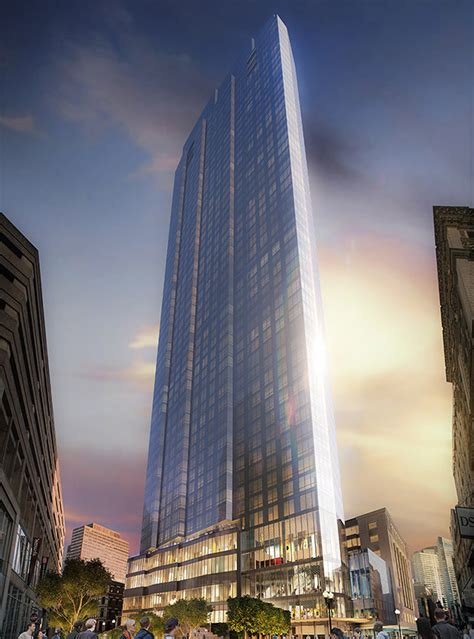 bay residential millennium tower boston