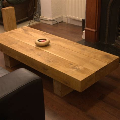 rectangular oak coffee tables buy standard oak sleeper
