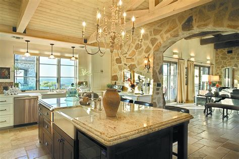 country homes and interiors recipes belvedere austin home off hamilton pool road love the massive stone archway opening to family