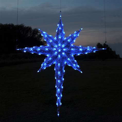 lowes lighted christmas decorations shop holiday lighting specialists 6 83 ft moravian star