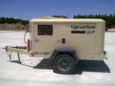 catalog of compressor ingersoll rand xp375wir