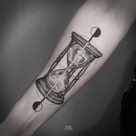 hourglass tattoos  men ideas  inspiration  guys