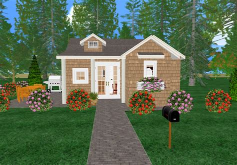 home design for small homes a cozy home in the backyard cozy home plans