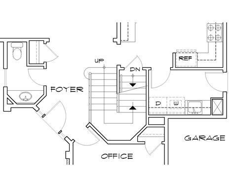 floor plans stairs melrose 5156 3 bedrooms and 2 baths the house designers