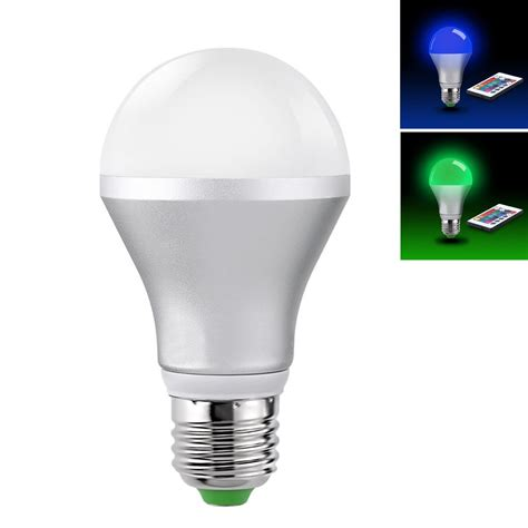 litexim multi color dimmable 16 color changing e27 5w led