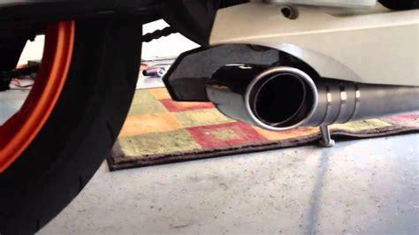 Jc Exhaust Ktm Rc8 Youtube