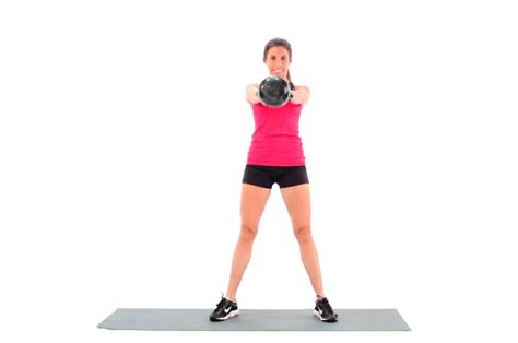 kettlebell swing swings benefits swinging livestrong form exercise woman fitness ls strong