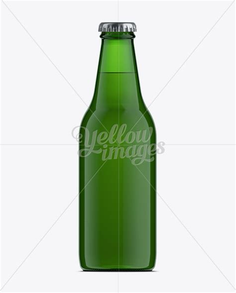 About 46% of these are bottles. 330ml Vishy Green Glass Beer Bottle Mockup in Bottle ...