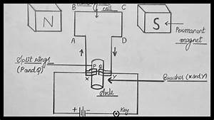 How To Draw Electric Motor